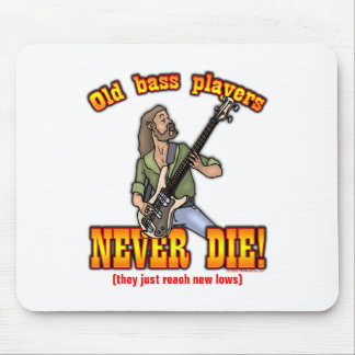 Bass Players Mouse Pad