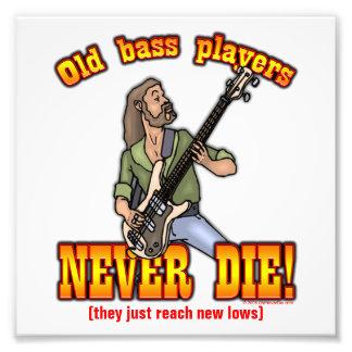 Bass Players Photo Print