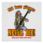 Bass Players Posters