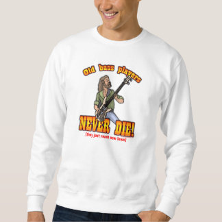 Bass Players Sweatshirt