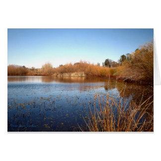 Bass Pond One Card