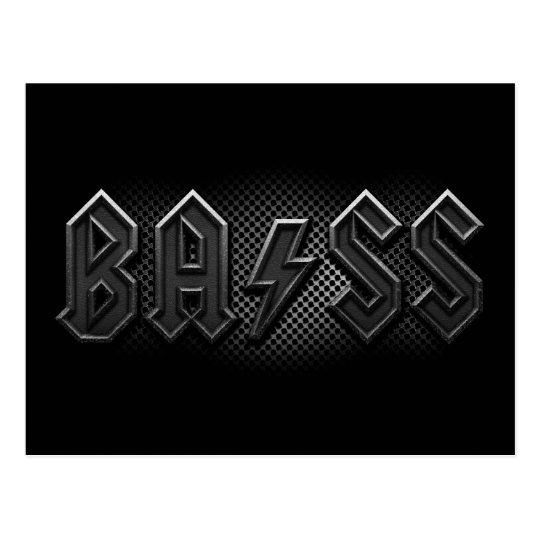 Bass Postcard