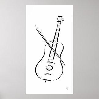 Bass, Poster