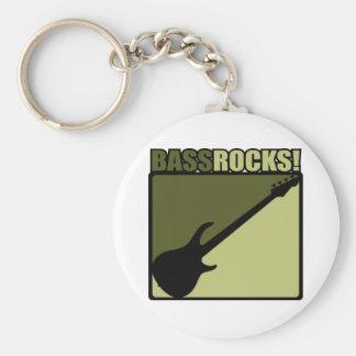 Bass Rocks! Keychain