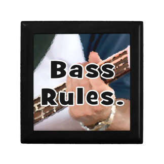 bass rules painterly player hand on neck male gift box