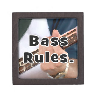 bass rules painterly player hand on neck male premium trinket box