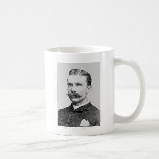 Bass ~ Sam Western Outlaw Train Robber Classic White Coffee Mug