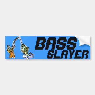 BASS SLAYER BUMPER STICKER