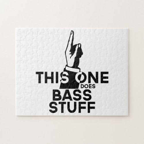 Bass Stuff _ Funny Bass Music Jigsaw Puzzle