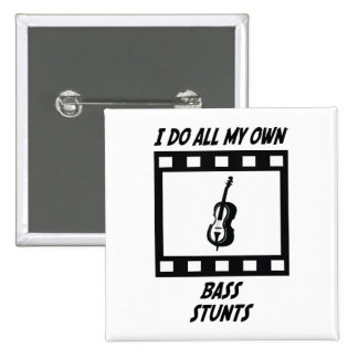 Bass Stunts Pinback Buttons