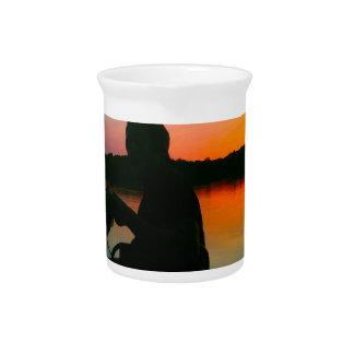 Bass Sunset Drink Pitchers