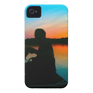 Bass Sunset iPhone 4 Cover