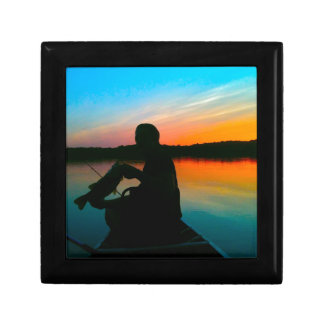 Bass Sunset Keepsake Box