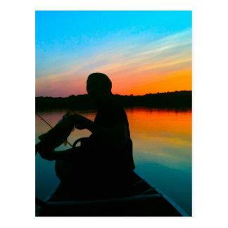 Bass Sunset Postcard