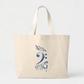 Bass Thumping Canvas Bag