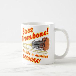 Bass Trombone Musical Bazooka Coffee Mug