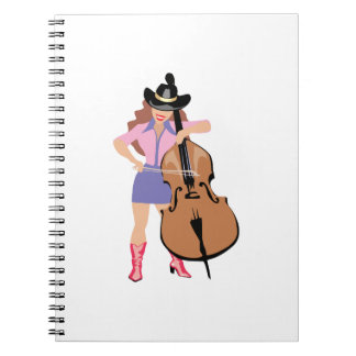 bass upright player cowgirl.png notebook