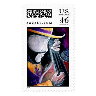 Bass Vibing Stamp