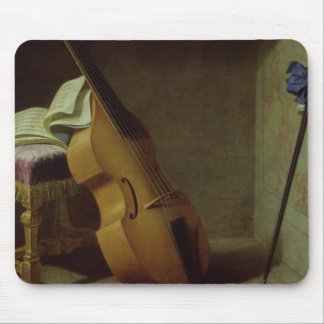 Bass Viol, Score Sheet and a Sword, 1693 Mouse Pad