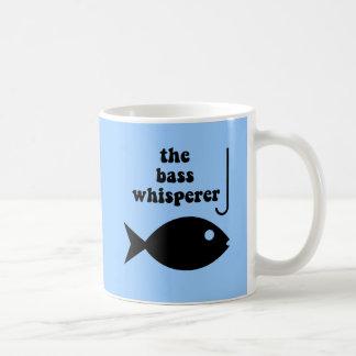 bass whisperer coffee mug