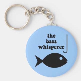 bass whisperer keychain