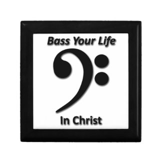 Bass Your Life In Christ Keepsake Boxes