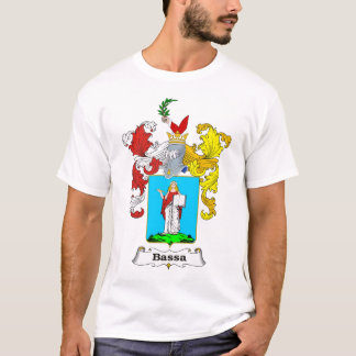 Bassa Family Hungarian Coat of Arms T-Shirt