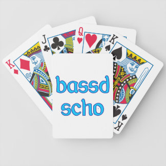 bassd scho already Bavarian Bavaria fits Bicycle Playing Cards