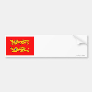 Basse-Normandie flag Bumper Sticker