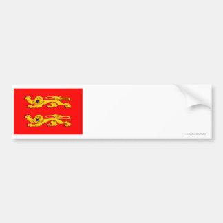 Basse-Normandie flag Bumper Sticker