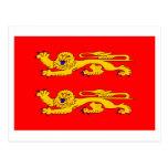 Basse-Normandie flag Post Card