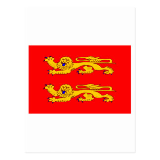 Basse-Normandie flag Postcard