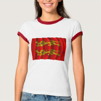 Basse-Normandie waving flag T-Shirt