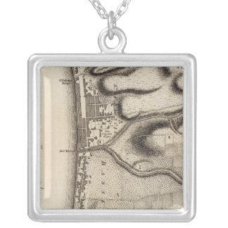 Basse Terre Square Pendant Necklace