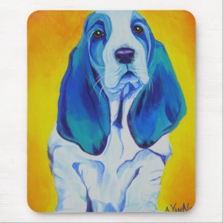 Basset #1 mouse pad