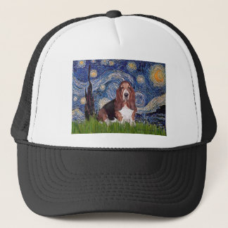 Basset 1 - Starry Night Trucker Hat