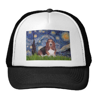 Basset 1 - Starry Night Trucker Hat