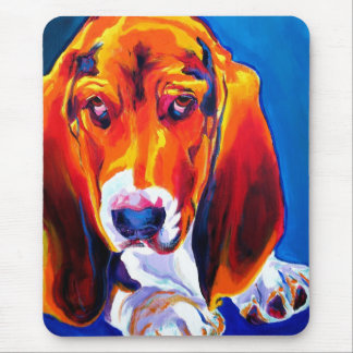 Basset #2 mouse pad