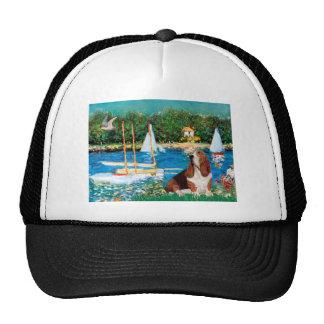Basset 2 - Sailboats Trucker Hat