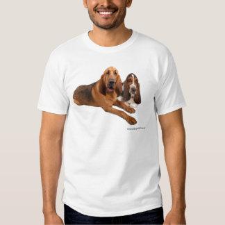 Basset and Bloodhound Buddies Shirt