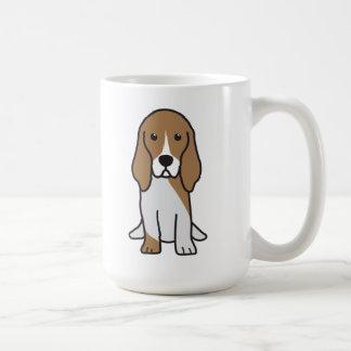 Basset Artesian Normand Dog Cartoon Coffee Mug