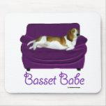 Basset Babe Mouse Pad
