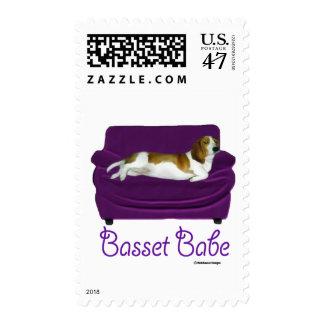 Basset Babe Stamp