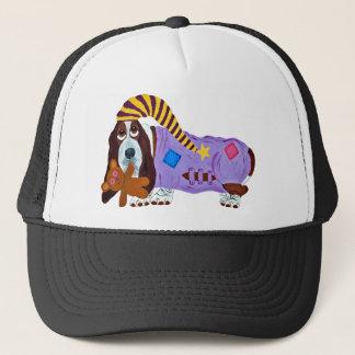 Basset Bedtime Trucker Hat