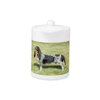 Basset Bleu de Gascogne Dog Teapot