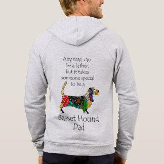 Basset Dad Hoodie