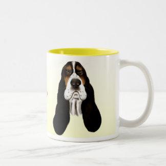 Basset Face Mug