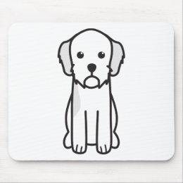 Basset Fauve de Bretagne Dog Cartoon Mouse Pad