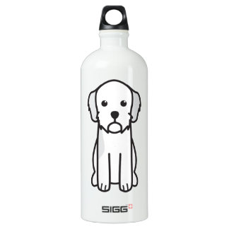 Basset Fauve de Bretagne Dog Cartoon SIGG Traveler 1.0L Water Bottle