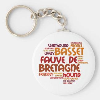 Basset Fauve de Bretagne Key Chains